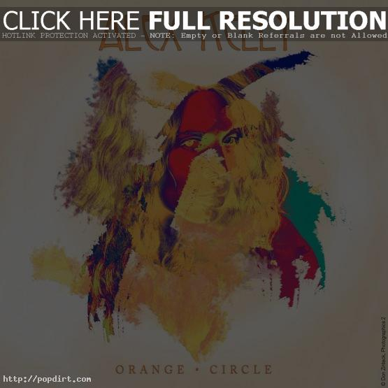 Alex Kelly Orange Circle