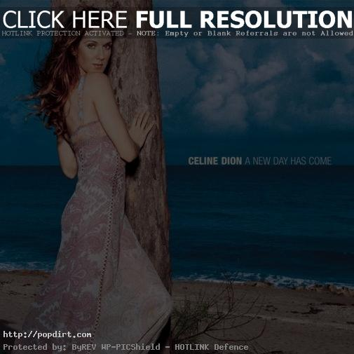 Celine Dion 'A New Day Has Come' album cover