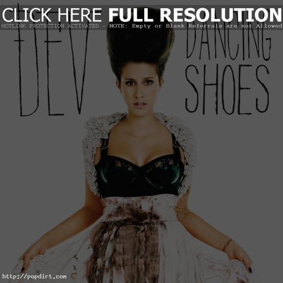 Dev 'Dancing Shoes' single cover