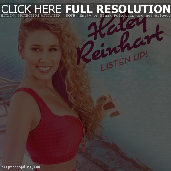 Haley Reinhart 'Listen Up!' album artwork