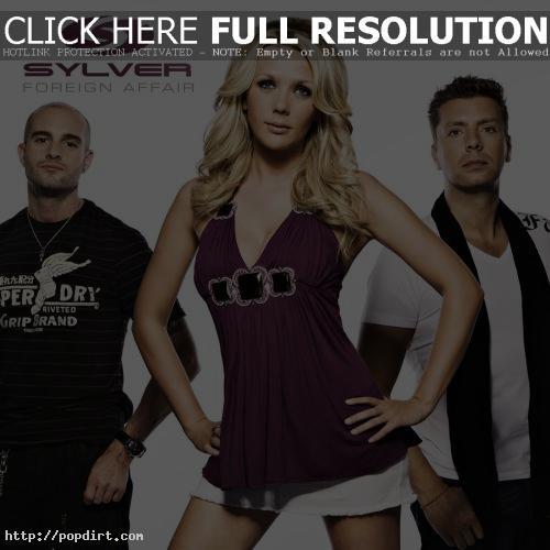 Sylver 'Foreign Affair' single cover