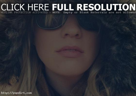 Alexz Johnson sunglasses