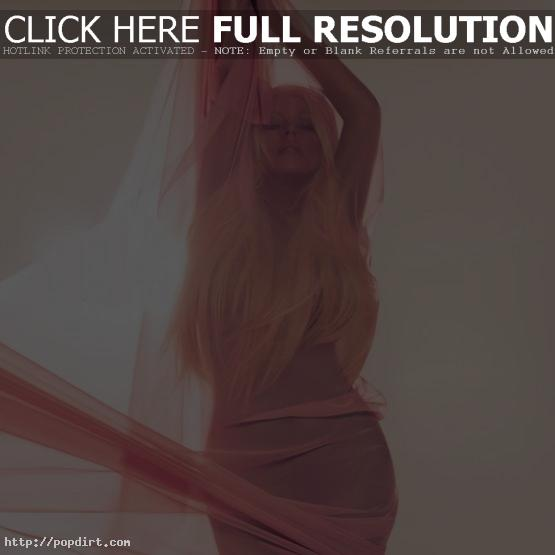Christina Aguilera, seen here in her 'Your Body' single cover pose, talked with Ryan Seacrest of KIIS FM in Los Angeles about her new album 'Lotus', the first single 'Your Body', her most recent prior hit 'Moves Like Jagger' and her decision to join 'The Voice'