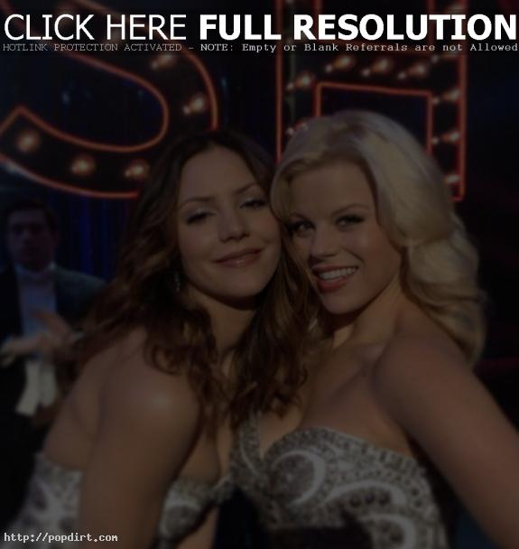 Katharine McPhee and Megan Hilty of 'SMASH'