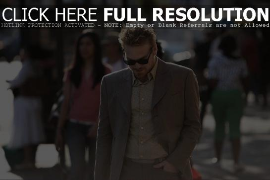 Marc Broussard on the street