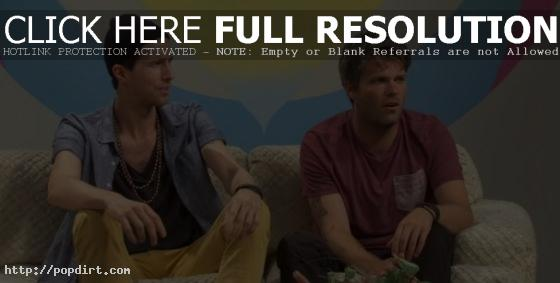 Sean Foreman and Nathaniel Motte Of 3OH!3 aren't down with Gorburger's plans to hide his best hostage friend Robert's dead body