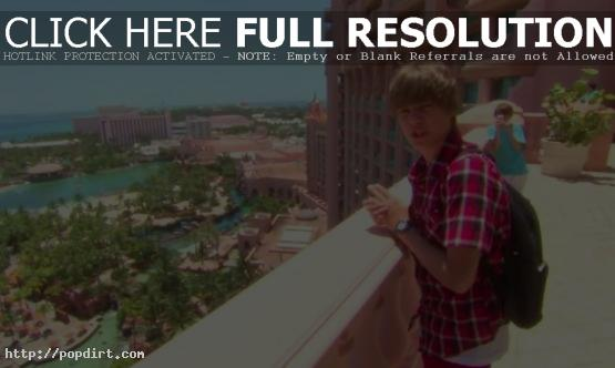 Justin Bieber in Atlantis
