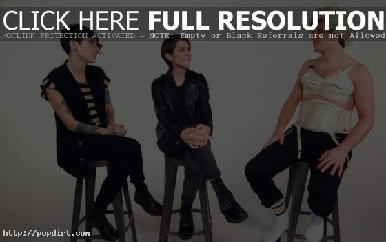 Tegan and Sara with Andy Samberg